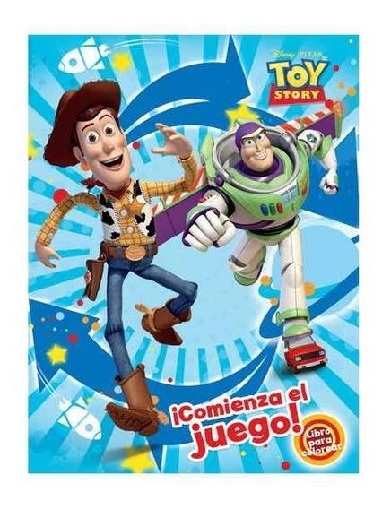 Libro De Colorear Toy Story Tamaño Carta 16 Páginas