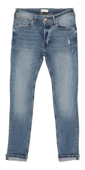 Jeans De Hombre C&a Super Skinny Stretch Biowash