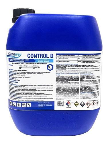 Imagen 1 de 5 de Sanitizante Desinfectante Peróxido De Hidrógeno Cleanway