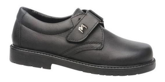 Zapatos Marcel Colegial C/abrojo Cuero