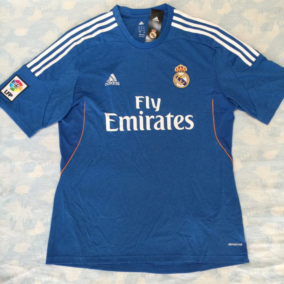 Z29405 Camisa adidas Real Madrid Away 13/14 G Azul Fn1608