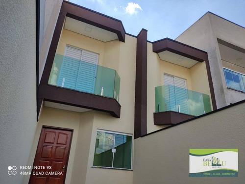 Casa Com 2 Dormitórios À Venda, 70 M² Por R$ 240.000,00 - Jardim Santo Antonio - Franco Da Rocha/sp - Ca0617