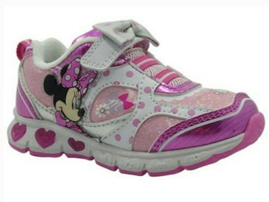 Zapatos Luces Disney Minnie