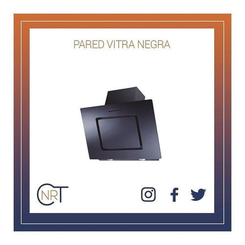 Campana De Pared  Vetro - Cnrt  60 70 90 Cm Blan Y En Negra