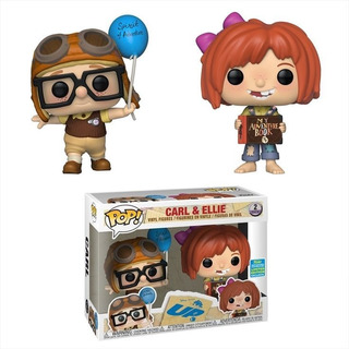 Funko Pop Carl & Ellie Up Ccle Exclusivo Disney Baloo Toys