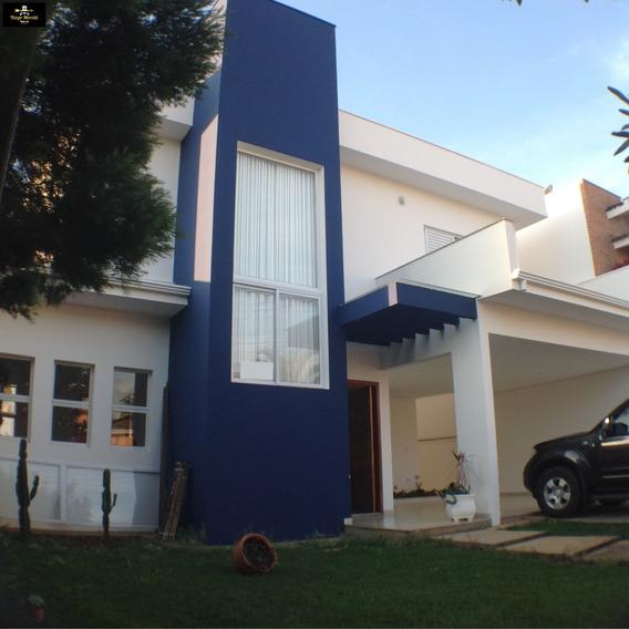 Linda Casa À Venda No Condomínio Portal Dos Pássaros Boituva -sp - Ca00081 - 32450705