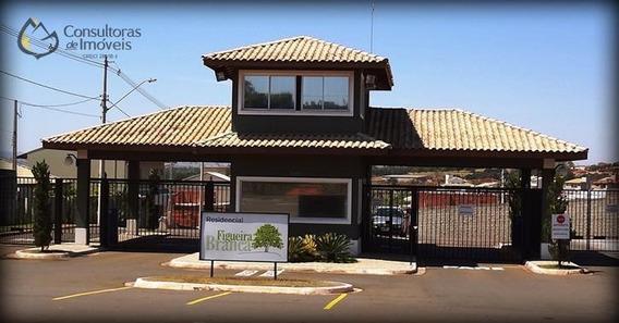 Terreno À Venda, 408 M² Por R$ 349.000 - Condomínio Figueira Branca - Paulínia/sp - Te0099