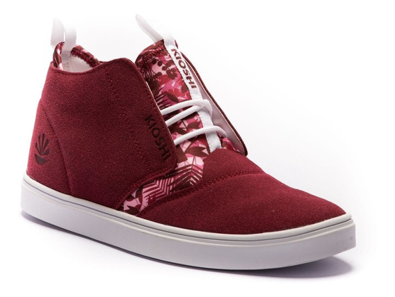 Zapatillas Kioshi Chukin Men Bourdeaux Leaves