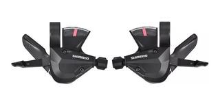 Shifters Shimano Altus 3x7 Vel. C/ Visor Y Cables 21v