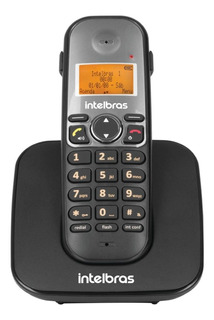 Telefone sem fio Intelbras TIS 5010 preto