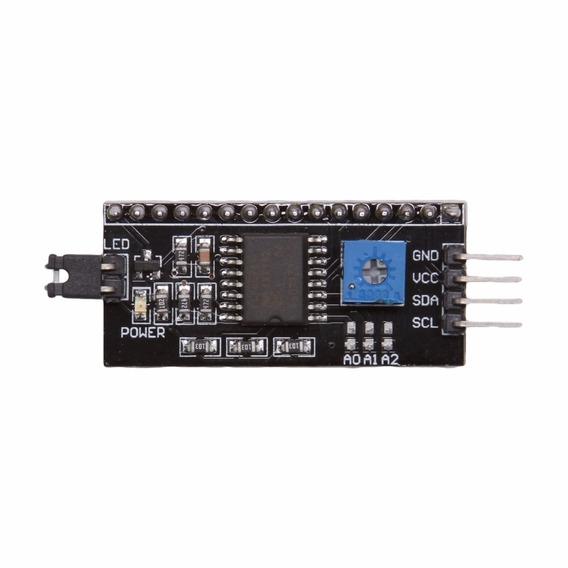 1pçs Modulo Serial I2c P/ Lcd 16x2 Ou 20x4 - Arduino / Pic
