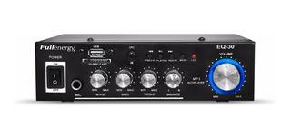 Stereo Amplificador 12/220v /usb/microfono/publicidad Fm