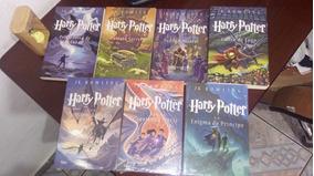 Box De 7 Livros Harry Potter