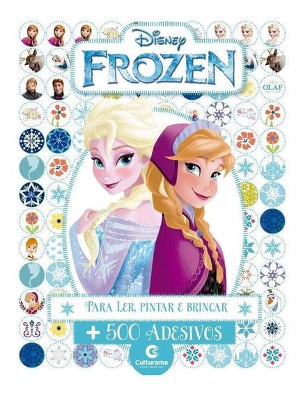 Livro 500 Adesivos Disney Frozen - Culturama