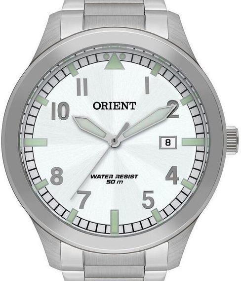 Relógio Orient Masculino Prata - Mbss1361 B2sx