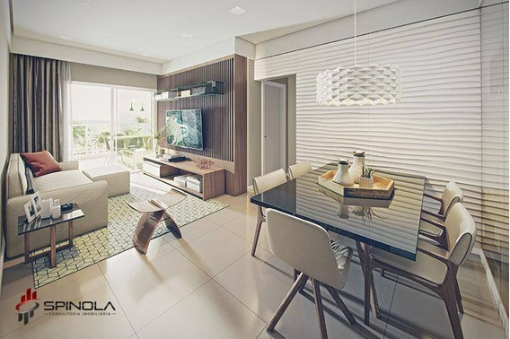 Apartamento Com 2 Dormitórios À Venda, 75 M² Por R$ 378.000 - Jardim Marina - Mongaguá/sp - Ap2773