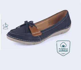 Zapato Para Dama Zoe Color Azul Marino Modelo 60220