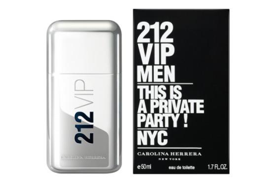 Perfume Carolina Herrera 212 Vip Masculino 50 Ml