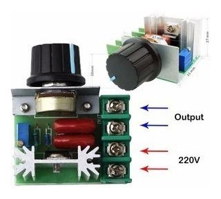 Fonte Regulavel Motor C/potenciômetro Ac 50v-220v-2000w-