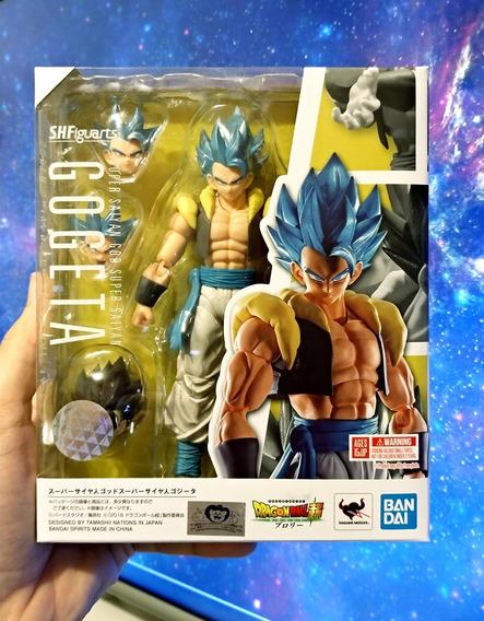 Gogeta Ssj Blue Dragon Ball Super Broly S.h.figuarts Bandai