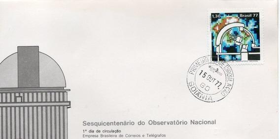 Fdc 1977 - 150º Do Observatório Nacional - Selos #132