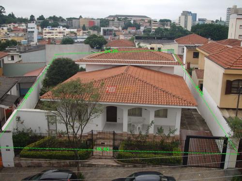 Casa Terrea No Bairro Jardim Do Mar Sao Bernardo Do Campo Com 03 Dormitorios - V-23894