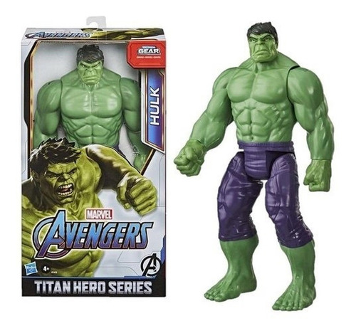 Avengers Boneco Hulk 30cm Deluxe - Hasbro E7475