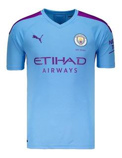 Camisa Do Manchester City 2019/2020 Inglês Oficial - Oferta