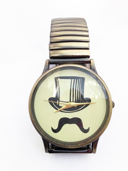 Relógio Cartola E Bigode Masculino