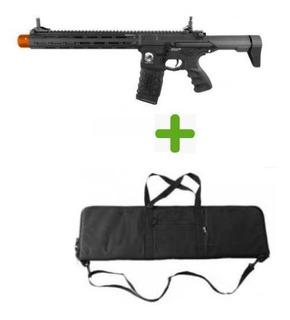 Rifle Airsoft Pdw15 Ar G&g + Bag Para Transporte