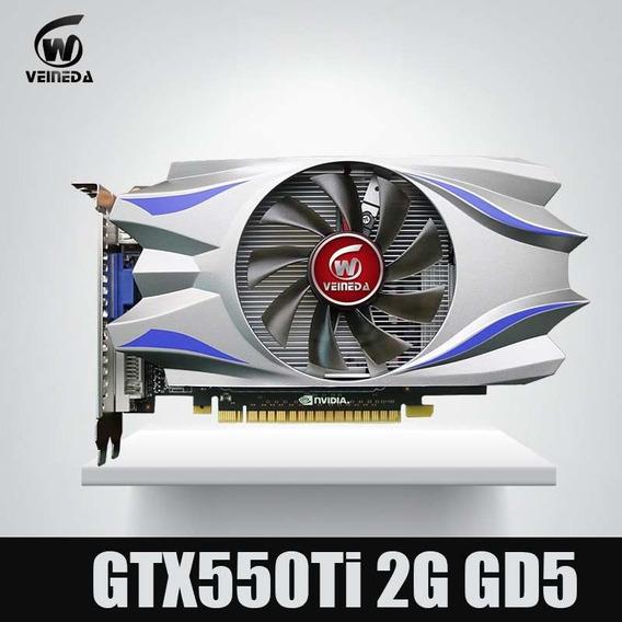 Placa De Vídeo Vga Gtx550ti 2gb 128-bits Ddr5