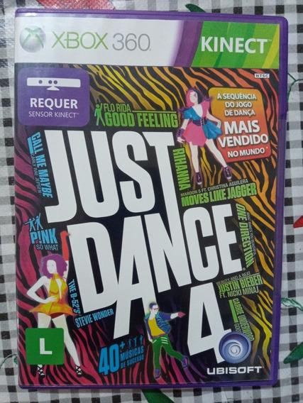 Just Dance 4 Xbox 360 Original Em Midia Fisica
