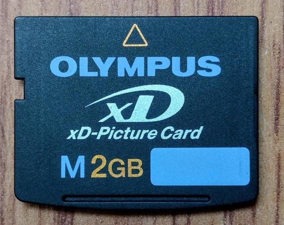 Cartão De Memória Olympus Xd-picture Card M 2gb - Original