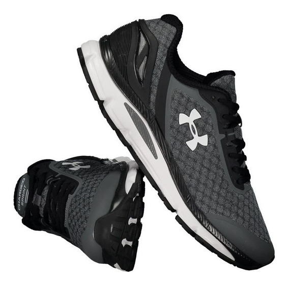 Tênis Under Armour Charged Sprint Masculino Chumbo. Cod 02