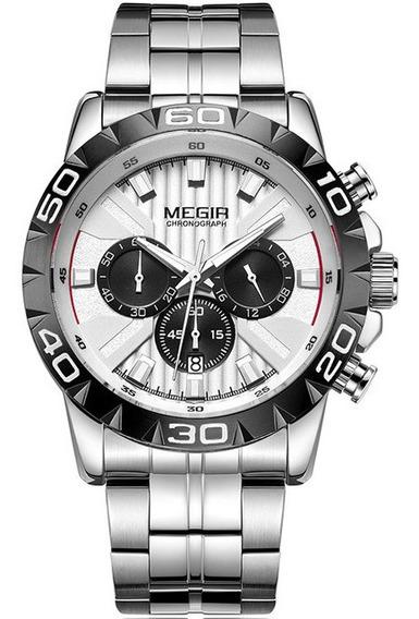 Luxo Negócios Relógios De Quartzo Aço Inoxidável Relógio De
