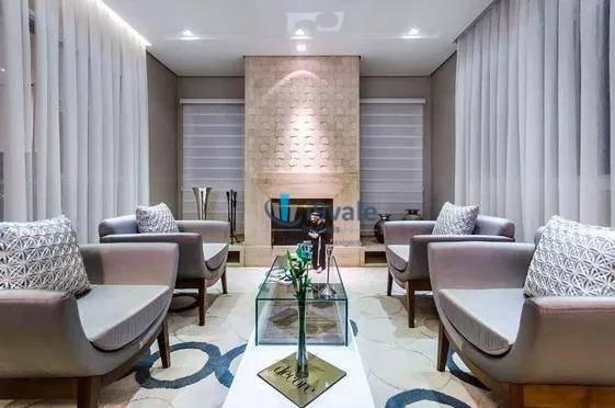 Lindo Apartamento Mobiliado E Decorado Com 4 Suites À Venda - Jardim Das Colinas - São José Dos Campos/sp - Ap1719
