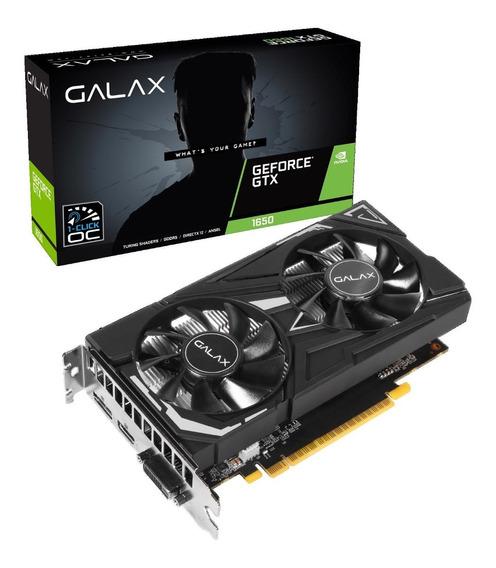Placa De Vídeo Galax Nvidia Geforce Gtx 1650 Ex 4gb Gddr5