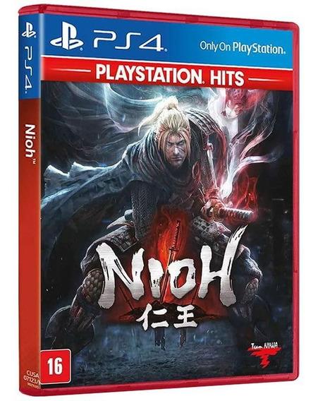 Nioh - Playstation Hits - Ps4 - Mídia Física E Original