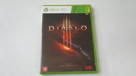 Jogo Diablo 3 - Xbox 360 - Original - Mídia Física