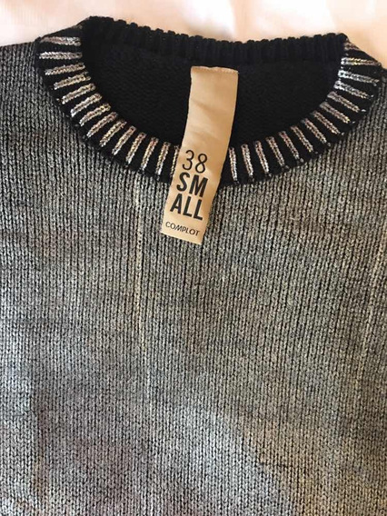 Sweater Complot Plateado