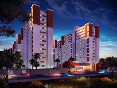 Apartamento Com 2 Dormitórios À Venda, 50 M² Por R$ 202.000 - Carvalho - Itajaí/sc - Ap0783