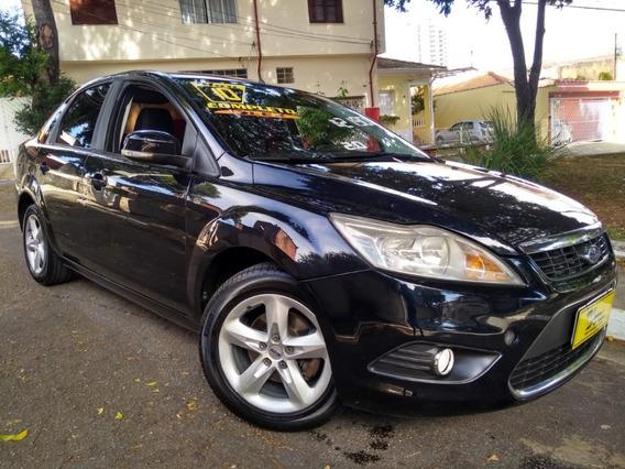 Ford Focus Sedan Glx 2.0 Flex 2010 Preto Completo Oferta!!