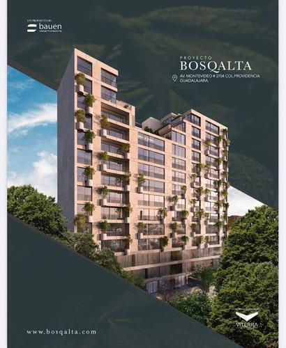 Imagen 1 de 23 de Departamento Nuevo En Colomos Providencia, Condominio Bosqalta