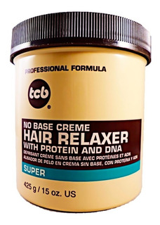 Hair Relaxer Tcb Super Crema Alisador 425 Gr Con Proteinas