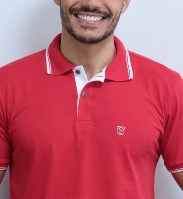 Roupa Masculina Camisas Kit Com 2 Polos De Luxo Originais