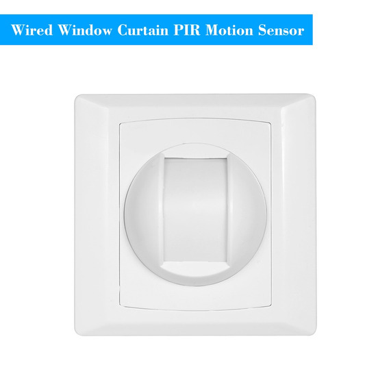 Wired Pir Motion Sensor De Cortina De Janela Detector De