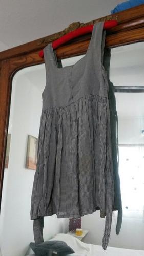 Vestido Corto Cuadrille