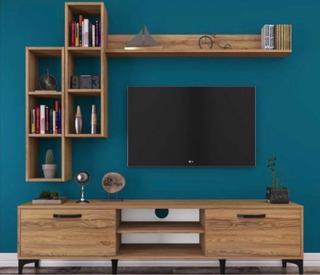 Mueble Rack De Tv Moderno Minimalista