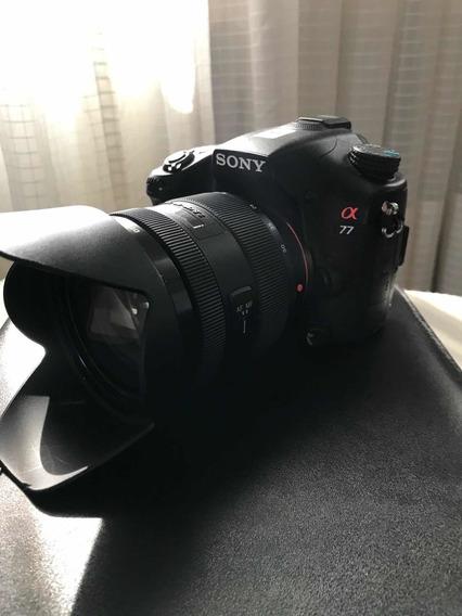 Câmera Sony A77 Com Lente 16-50 F2.8