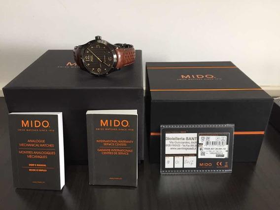 Relógio Mido Multifort Automático Caixa Manuais Garantia Ok